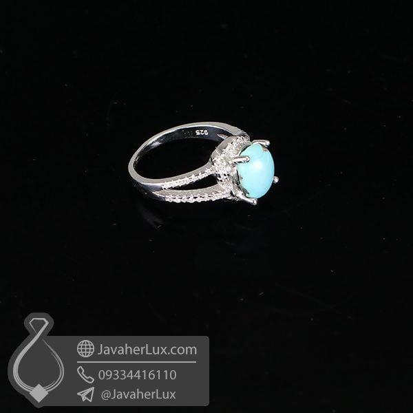 انگشتر زنانه فیروزه نیشابوری _ کد : 100656