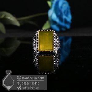 انگشتر نقره مردانه شرف الشمس _ کد : 100681