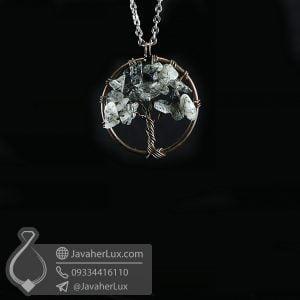 گردنبند ابسیدیان درخت زندگی _ کد : 400625