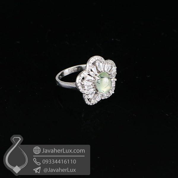 انگشتر زنانه پرهنیت _ کد : 100619