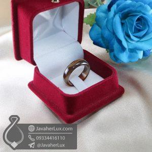 حلقه سنگ عقیق سلیمانی _ کد : 400667