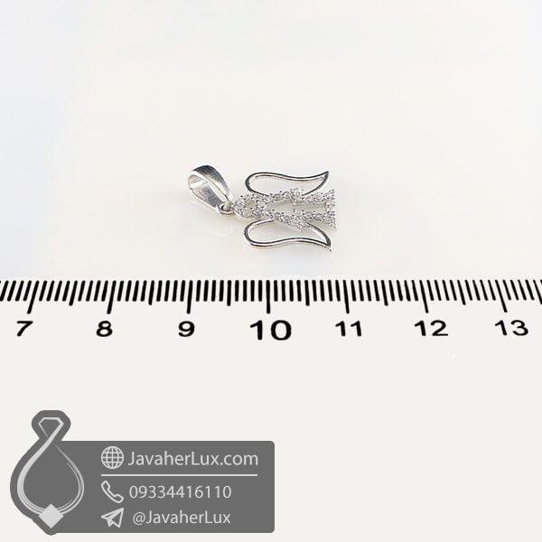گردنبند نقره طرح فرشته _ کد : 100746