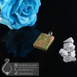 گردنبند سنگ اوناکیت _ کد : 400724