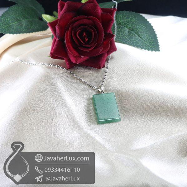 گردنبند سنگ آونتورین _ کد : 400735