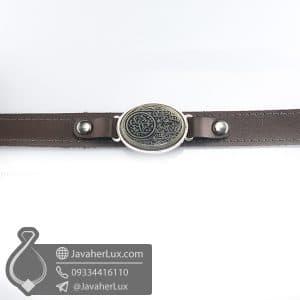 دستبند یشم حکاکی یا قمر بی هاشم _ کد : 400767