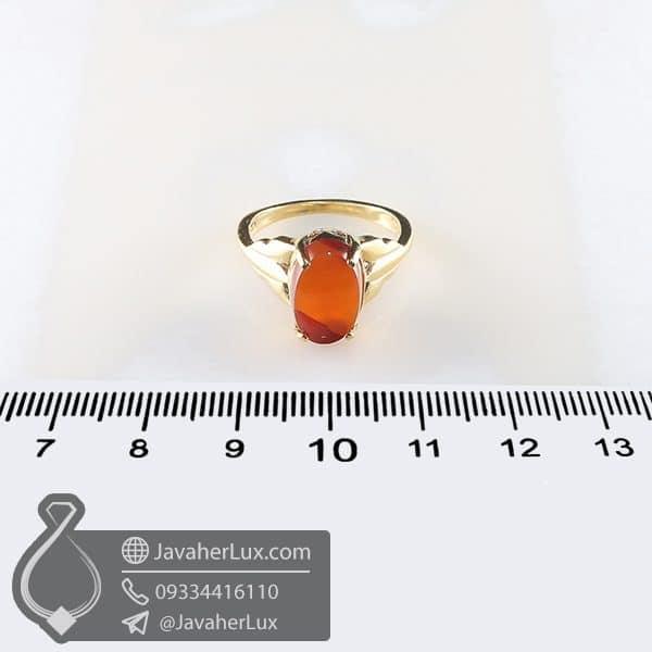 انگشتر نقره زنانه عقیق یمنی _ کد : 100753