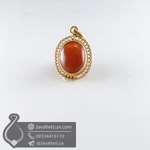 گردنبند نقره زنانه عقیق یمنی _ کد : 100767
