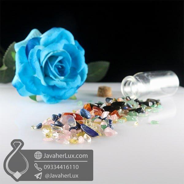 شیشه هفت سنگ چاکرا _ کد : 400819